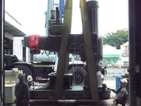 大型機械搬入1-3
